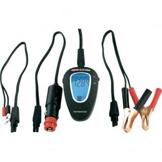 Unitec Batterietester LCD Battery Control Wohnmobil Wohnwagen Display 12V 24V
