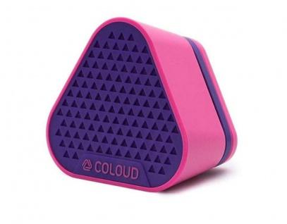 COLOUD Mini Lautsprecher Bang Purple Portable Aktiv Speaker Box 3, 5mm Klinke