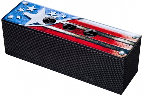 Bigben Bluetooth Lautsprecher USA US Flagge Boxen BT Wireless Speaker Party-Box