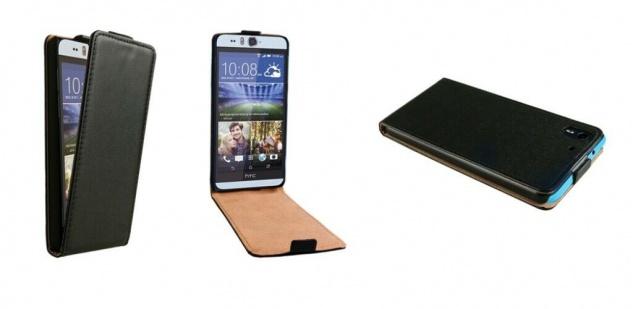 Patona Slim Flip Cover Klapp-Tasche Schutz-Hülle Cover Case für HTC Desire Eye