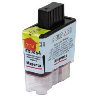 Hama Analog Druckerpatrone für B90 Brother DCP -115C Tinte Magenta Rot 13 ml