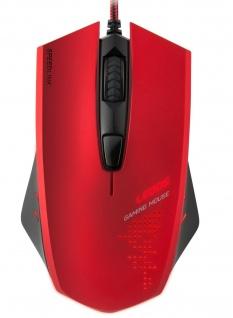 Speedlink LEDOS LED USB Profi Gaming Maus Mouse Spezial-Tasten 3000 dpi eSport
