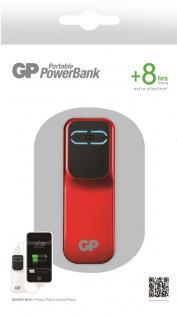 GP 2000mAh Power-Bank Externer Akku USB Ladegerät für Universal Handy Smartphone - Vorschau 1