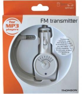 Thomson FM Transmitter AUX Sender KFZ PKW für Handy iPhone 6S 6 SE 5S Auto-Radio