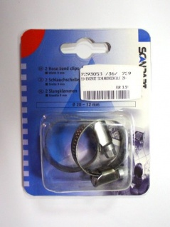 ScanPart Schlauchschellen °20-32mm Breite 9mm für Waschmaschine Geschirrspüler - Vorschau