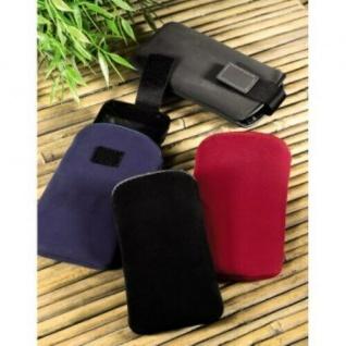 Hama Handy-Tasche Slim Universal Velvet Pouch Rot Bag Case Etui Schutz-Hülle - Vorschau 2