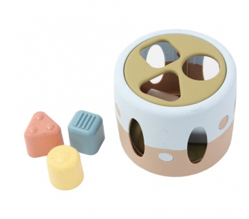 Dantoy Tiny Bio-Sortierbox Sortier-Spiel Steckspiel Formen Motorik-Spiel Kinder