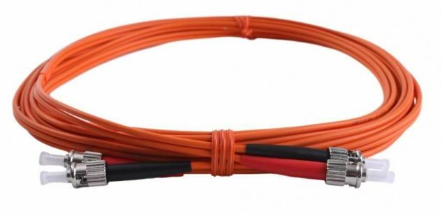 LWL-Kabel 62, 5/125 850nm ST-ST Stecker 5m Netzwerk-Kabel 62, 5 / 125 Patch-Kabel