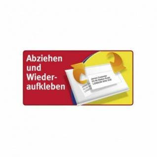 Avery Zweckform L7973 1000x Adress-Etiketten A4 Drucker B4 C4 C5 Adressaufkleber - Vorschau 4