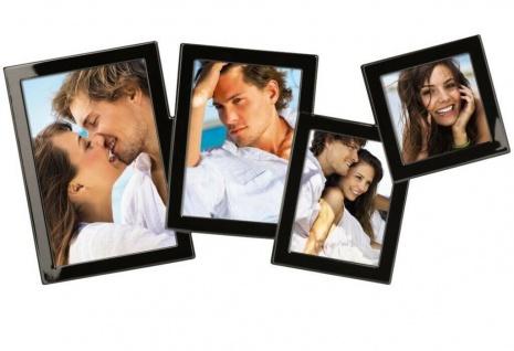Hama 3D Portrait-Rahmen Bilder-Galerie Foto-Rahmen Bilder-Rahmen Collage 4 Fotos