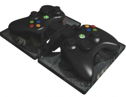 Gioteck Dual Lade-Station + 2 Akku Box Docking Ladegerät für Xbox 360 Controller