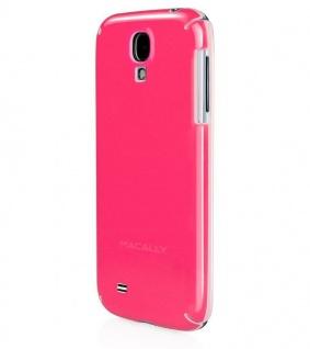 Macally Cover Pink Schutz-Hülle Hard-Case Handy-Tasche Bag für Samsung Galaxy S4