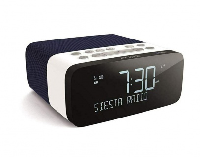 Pure Siesta Rise S Digital-Radio Radio-Wecker Uhren-Radio DAB RDS USB Bluetooth