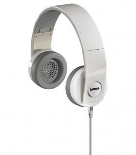 Hama Over-Ear Headset Kopfhörer 3, 5mm für Samsung Galaxy S9 S8 Plus Note 8 9