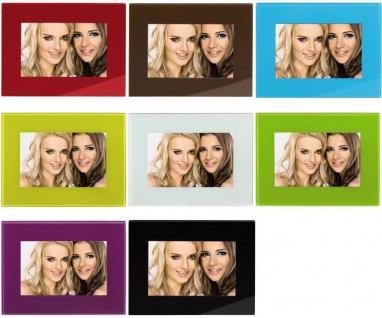 Hama Bilder-Rahmen 10x15cm 13x18cm Glas MDF Porträt-Rahmen Glas Foto Bild-Halter