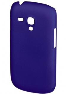 Hama Cover Rubber blau Schutz-Hülle Handy-Tasche Case für Samsung Galaxy S3 Mini