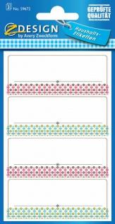 Avery 12 Stück Haushaltsetiketten Aufkleber Einmach-Etiketten Küchen-Etiketten