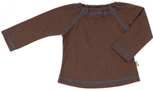 Tragwerk Shirt Finn Jersey Kakao 56-68 Baby Junge Mädchen T-Shirt Langarm Pulli