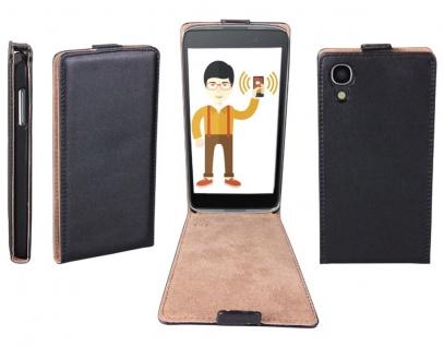 Patona Slim Flip Case Klapp-Tasche Hülle Cover für Alcatel One-Touch Idol 3 4, 7