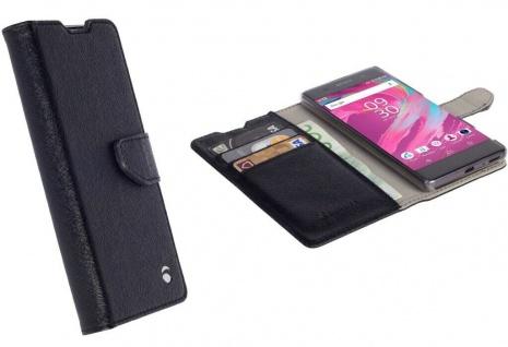 Krusell Folio Wallet 2in1 Tasche Smart Schutz-Hülle Cover für Sony Xperia XA