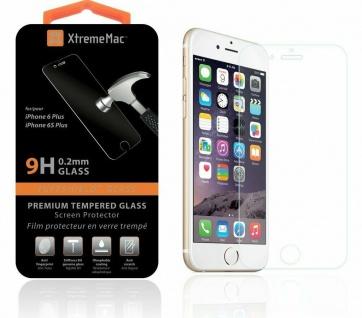 XtremeMac Glas-Folie 9H Hart Schutz-Folie Hartglas Panzer für iPhone 6 6s Plus
