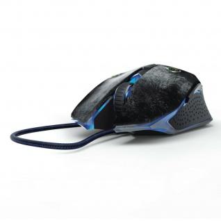 Hama uRage Gaming-Mouse Bullet Optisch Kabel-Maus Beleuchtet 6 Tasten 3000dpi