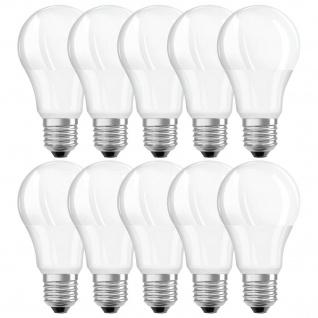 Xavax 10x LED-Leuchtmittel E27 8, 5W / 60W Glüh-Birne A60 Tropfen-Lampe Warmweiß