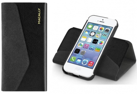 Macally Wallet Hard Case Flip-Cover Klapp-Tasche Ständer Bag für Apple iPhone 5C