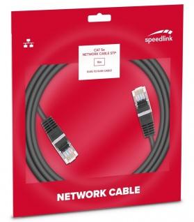 Speedlink 15m Netzwerk-Kabel Cat 5e STP RJ45 Gigabit Patchkabel LAN DSL Ethernet