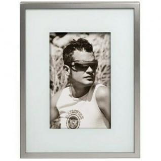 Hama Portrait Rahmen Lille 13x18cm Metall Fotorahmen Bilderrahmen Portraitrahmen