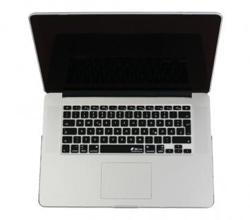 Tastatur-Abdeckung Skin Cover auf Deutsches Layout QWERTZ für MacBook Pro / Air