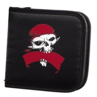 Hama CD-Tasche Pirates 32x CD DVD BluRay Wallet CD-Case Aufbewahrung Hülle Etui