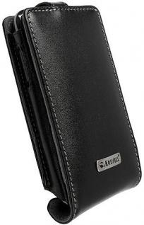 Krusell Orbit Flex Case Leder-Tasche für Samsung Galaxy S Etui Flap Bag Hülle