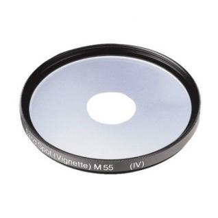 Hama Sand Spot Filter 55mm Vignette Mitte klar Effekt für Kamera Foto DSLR DSLM