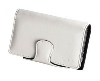 Hama Leder-Tasche Case Hülle Etui Bag weiß für Nintendo DSi NDSi DS Lite Konsole
