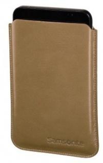 "Samsonite Toledo 7"" Tasche Etui beige für Tablet PC eBook-Reader Leder-Hülle Bag"
