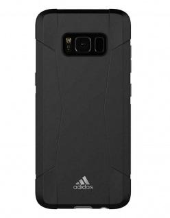 Adidas Solo Black Cover Hard-Case Tasche Schutz-Hülle Box für Samsung Galaxy S8 - Vorschau 2