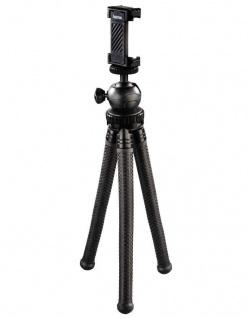Hama Flex-Pro Flexibles Mini-Stativ 27cm Tripod Biegbare Beine Kamera Handy etc