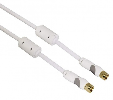 Thomson HQ 1, 5m Sat-Kabel F-Typ F-Stecker TV Antennen-Kabel 95db Koaxial-Kabel