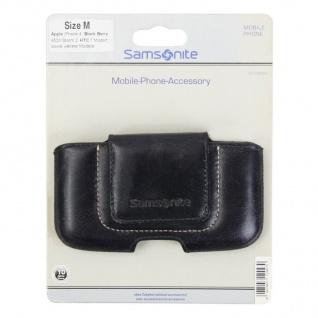 Samsonite Toronto Handy-Tasche Gr.M blau Köchertasche Etui Case Hülle Smartphone