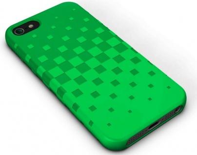XtremeMac Design Silikon Skin Cover Grün Hülle Case Bag für Apple iPhone SE 5S 5