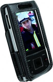 Krusell Classic Case Leder-Tasche Cover für Sony Ericsson Hazel J20 J20i Etui