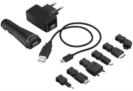 Hama Handy USB Lade-Set Ladegerät Lader Universal Samsung Nokia LG Sony Ericsson