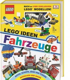 DK Buch LEGO® Ideen Fahrzeuge mit Bau-Steinen 61x 4x Modell 100 Autos PKW Bagger