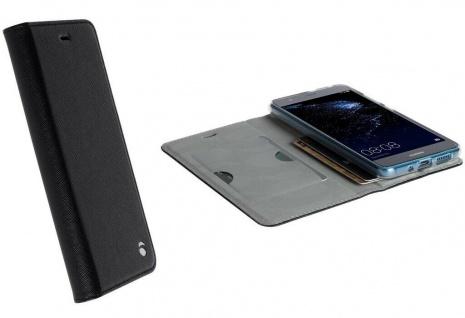 Krusell Folio Wallet Tasche Smart Schutz-Hülle Case Cover für Huawei P10 Lite