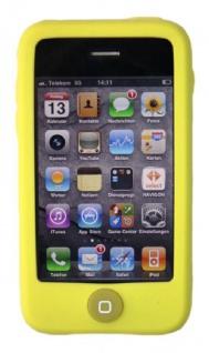 Hama Silikon Skin GRÜN Schutz-Hülle Tasche Case Cover für Apple iPhone 3G 3GS