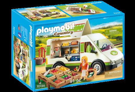 Playmobil Country 70134 Hofladen-Fahrzeug Mobiler Bio-Laden Landwirt Landleben