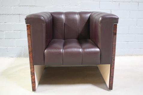 design leder sessel online bestellen bei yatego. Black Bedroom Furniture Sets. Home Design Ideas