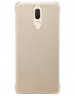 Original Huawei Color PU Case Gold Cover Tasche Schutz-Hülle für Mate 10 Lite