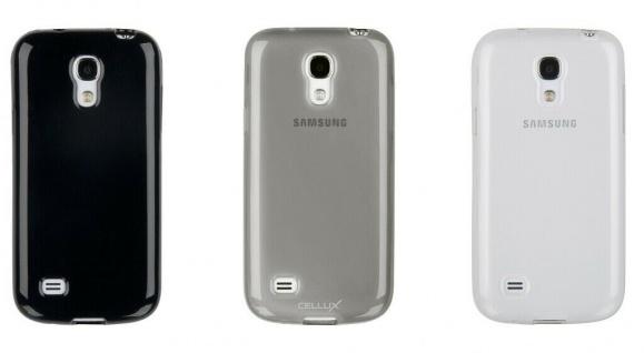 TPU Back Soft-Case Schutz-Hülle für Samsung Galaxy S4 mini Cover Etui Tasche